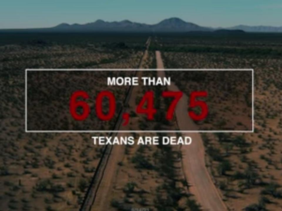 The Lincoln Project have released an advert attacking Texas governor Greg Abbott (TheLincolnProject)