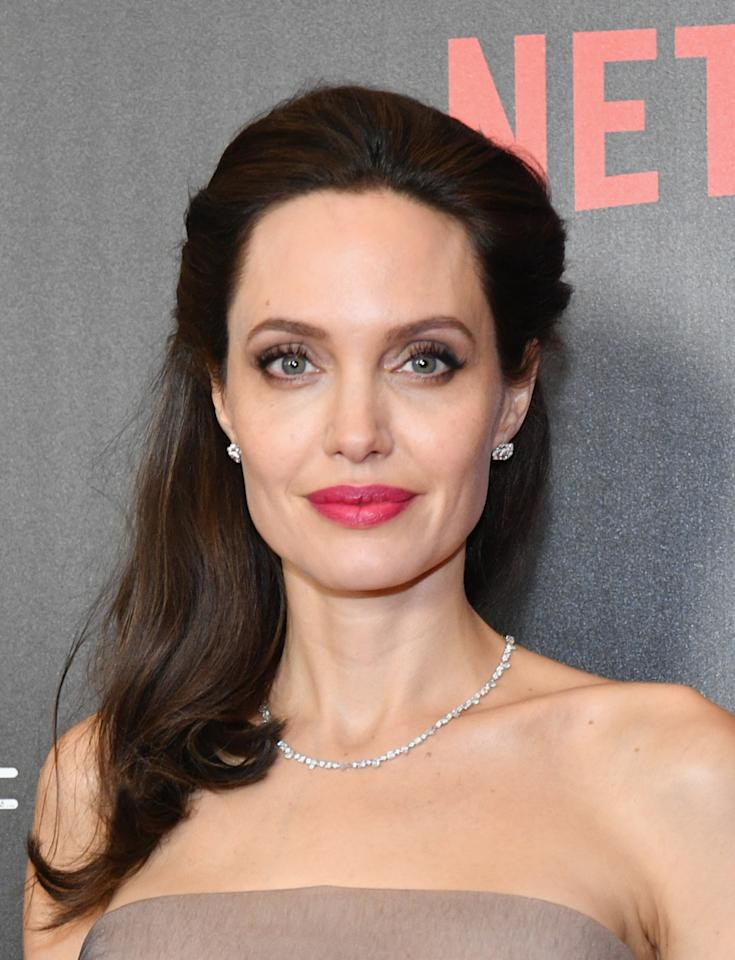 """As one of the biggest A-listers in Hollywood, Jolie has likely come across <strong>caviar</strong> once or twice in her life. Turns out, the actress might be such a fan of the food that he slathers it on her face. After giving birth to her twins, <strong>Knox</strong> and <strong>Vivienne</strong>, Jolie began a skin care treatment involving Baeri sturgeon eggs. The <a rel=""""nofollow"""" href=""""http://www.dailymail.co.uk/tvshowbiz/article-504661/How-Angelina-Jolie-uses-cosmetic-sturgeon-unsightly-veins.html"""">fish eggs</a>, which are reared on farms in the south of France, are said to tighten the skin and combat slackness often associated with wrinkles."""