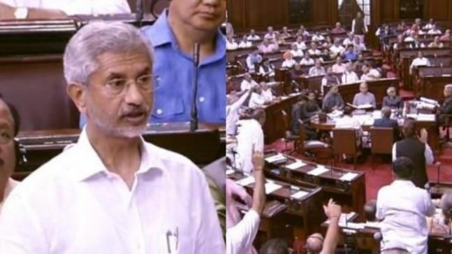 Making a statement in the Rajya Sabha, External Affairs Minister S Jaishankar categorically assured the House that PM Modi has made no request to US President Donald Trump to mediate in the Kashmir issue.