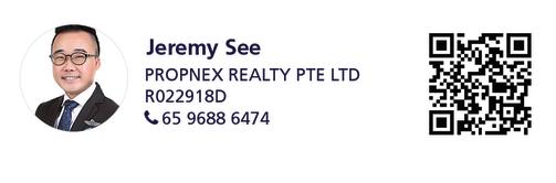Jeremy See, senior associate marketing director at PropNex Realty and marketing agent of the Tivoli Grande penthouse