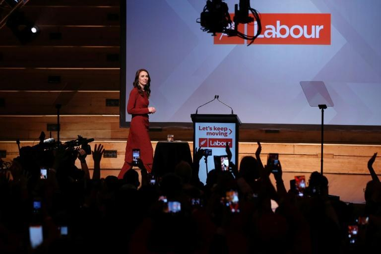 "Jacinda Ardern dubbed the vote ""the Covid election"" and campaigned on her government's success in eliminating community transmission of the virus"