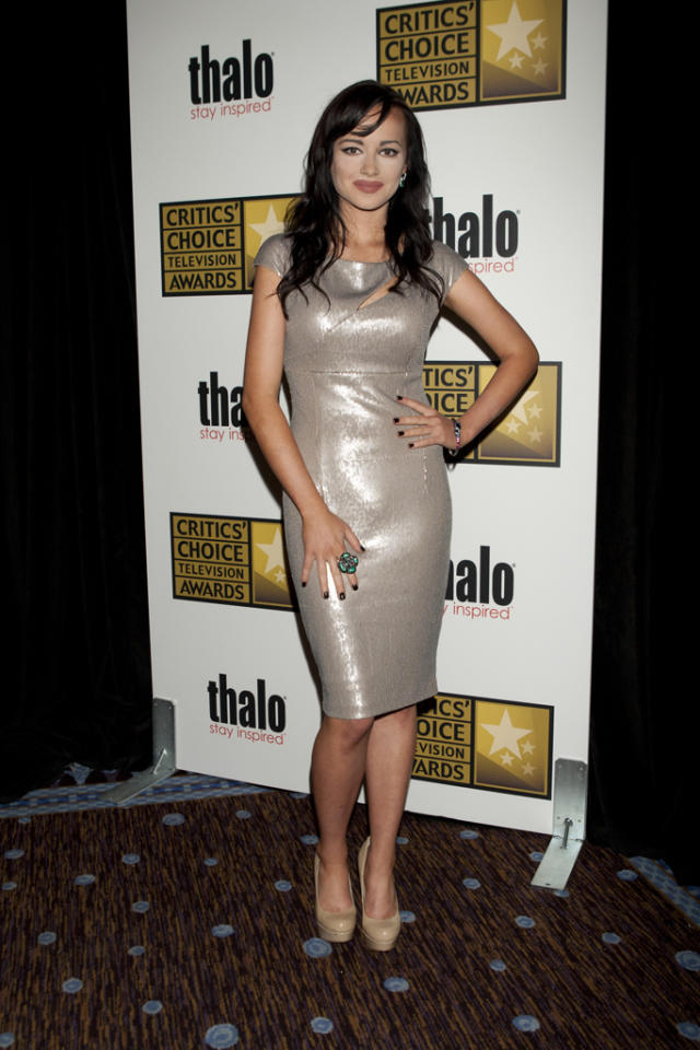 Ashley Rickards attends the 2012 Critics' Choice Television Awards at The Beverly Hilton Hotel on June 18, 2012 in Beverly Hills, California.