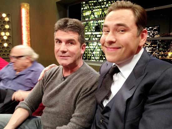 David Walliams and Simon Cowell
