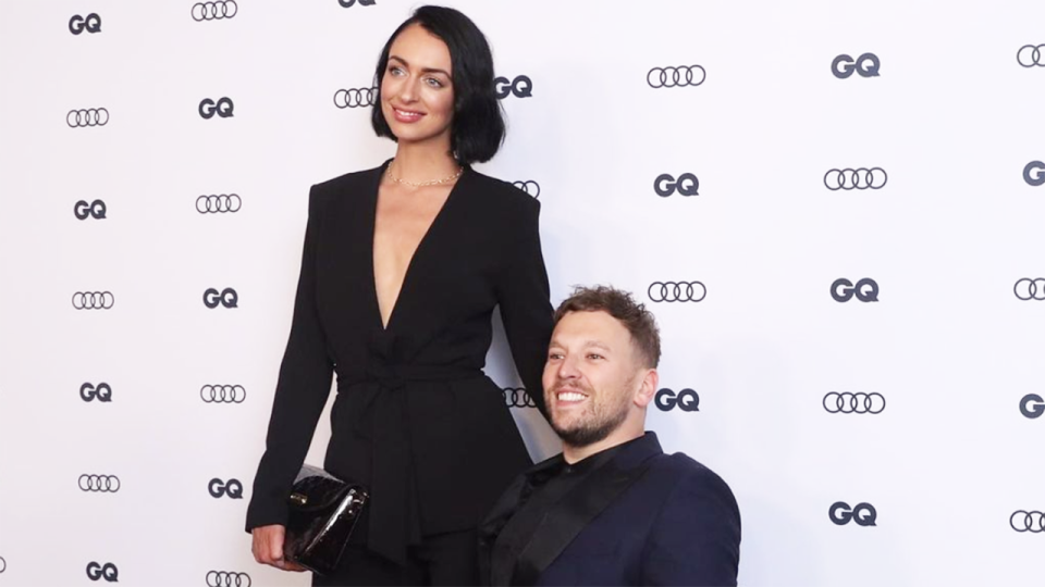 Chantelle Otten, sexologist and partner of tennis star Dylan Alcott, has shared an amusing story from the early days of their relationship on Instagram. Picture: Instagram/chantelle_otten_sexologist