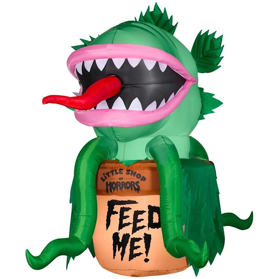 <p>Fans of the classic film will instantly love this over-the-top <span>Prelit Animated Audrey From Little Shop of Horrors Airblown Inflatable</span> ($199). Just look at the tongue!</p>