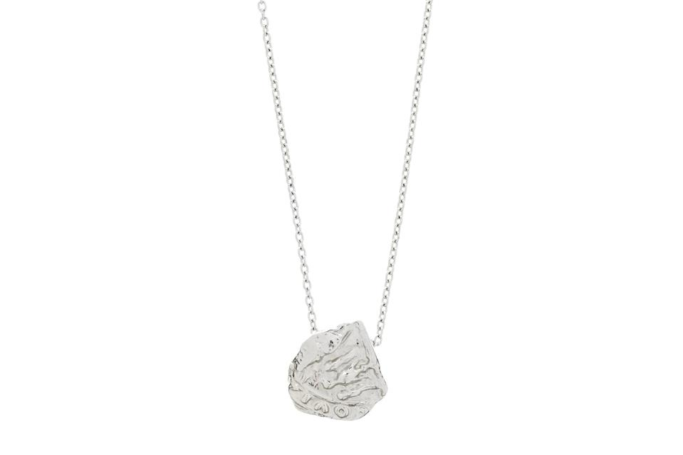 """$109, Matchesfashion. <a href=""""https://www.matchesfashion.com/us/products/Dear-Letterman-Kowa-sterling-silver-pendant-necklace-1372686"""" rel=""""nofollow noopener"""" target=""""_blank"""" data-ylk=""""slk:Get it now!"""" class=""""link rapid-noclick-resp"""">Get it now!</a>"""