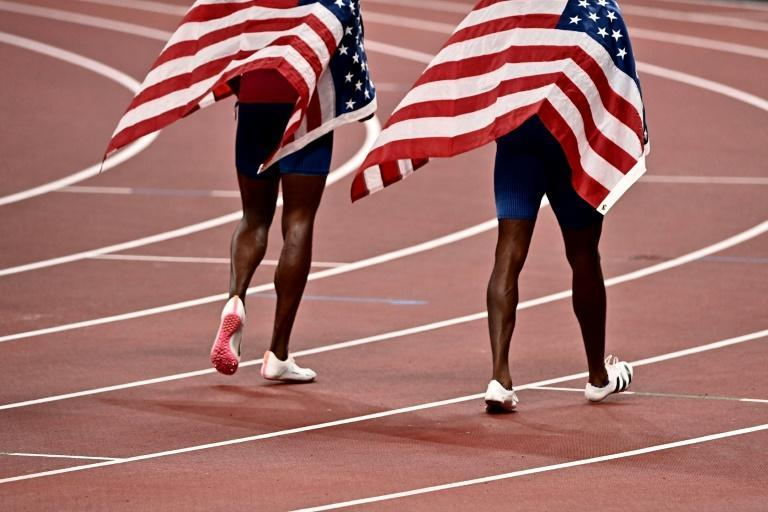 The USA could finish the Olympics without an individual men's track gold medal for the first time in history