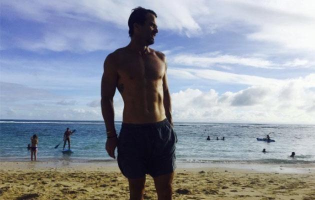 Aussie actor Charlie Clausen was a guest at the nups and posted some Bali beach snaps on his social. Photo: Instagram