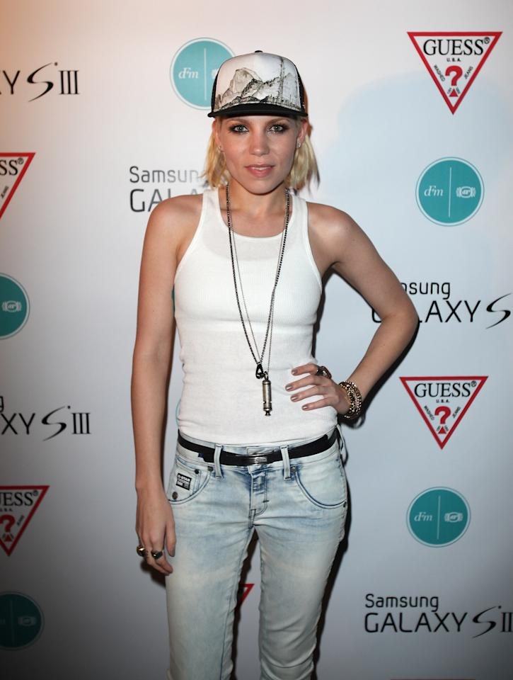 CHICAGO, IL - AUGUST 04:  Musician Skylar Grey attends the dFm After Party presented by Samsung Galaxy S III at Crimson Lounge on August 4, 2012 in Chicago, Illinois.  (Photo by Tasos Katopodis/Getty Images for Samsung Galaxy S III)