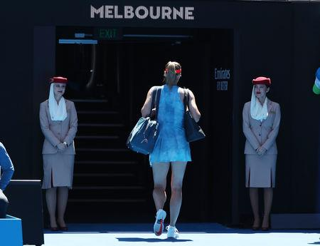 Maria Sharapova refuses to let Australian Open exit dent Slam dreams