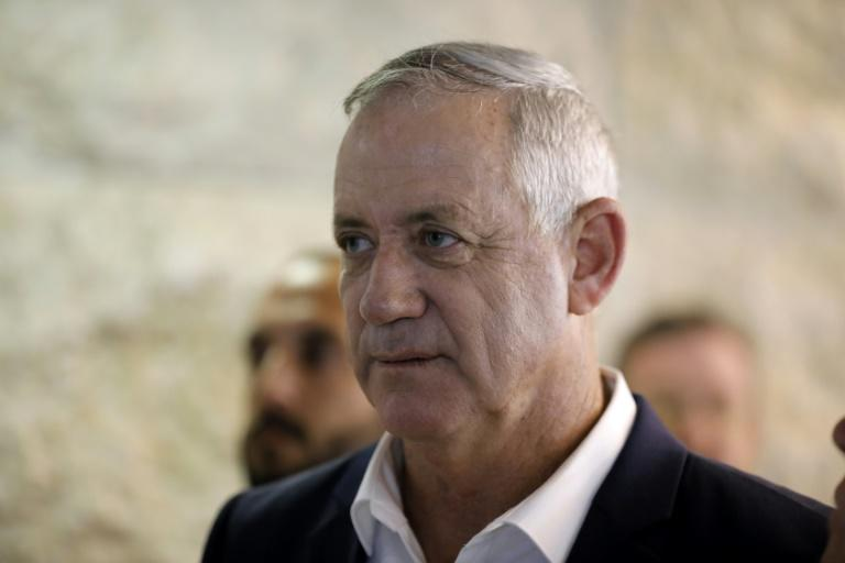 Former military chief Benny Gantz is to be tasked with forming a new government in a landmark moment in Israeli politics as veteran incumbent Benjamin Netanyahu has been given the task after every election since 2009 (AFP Photo/Menahem KAHANA)