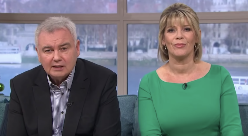 Eamonn Holmes received complaints about comments he made concerning the coronavirus. (ITV)