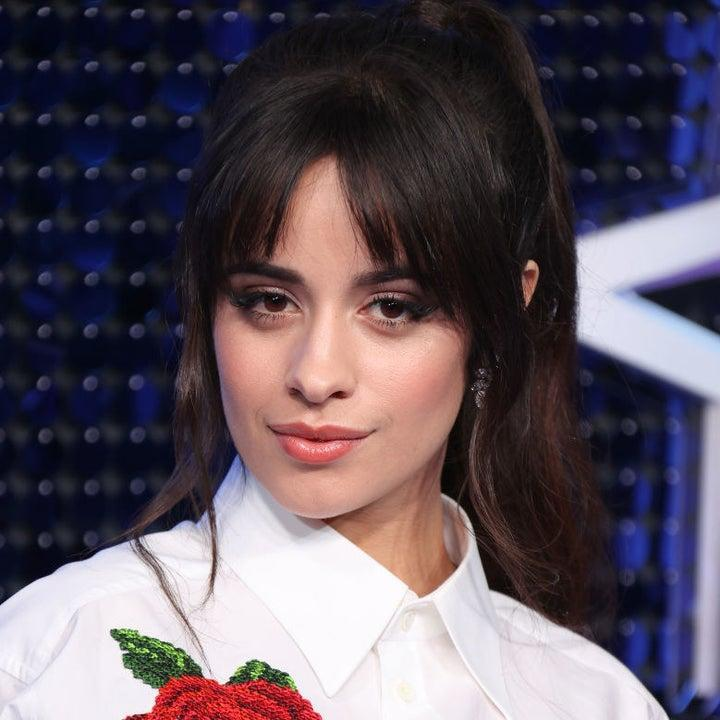 Camila on the red carpet
