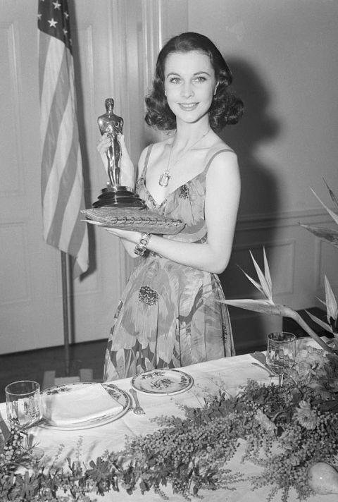 <p>Nominated for 13 awards in 12 categories, <em>Gone with the Wind </em><span>took Best Picture, Best Actress (Leigh), Best Supporting Actress (McDaniel), Best Director (Fleming) and Best Screenplay (Sidney Howard, awarded posthumously) - and won <em>five </em><span>more on top of that.</span></span></p>