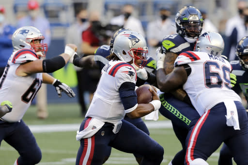 Lack of O-line mistakes has helped propel Patriots offense