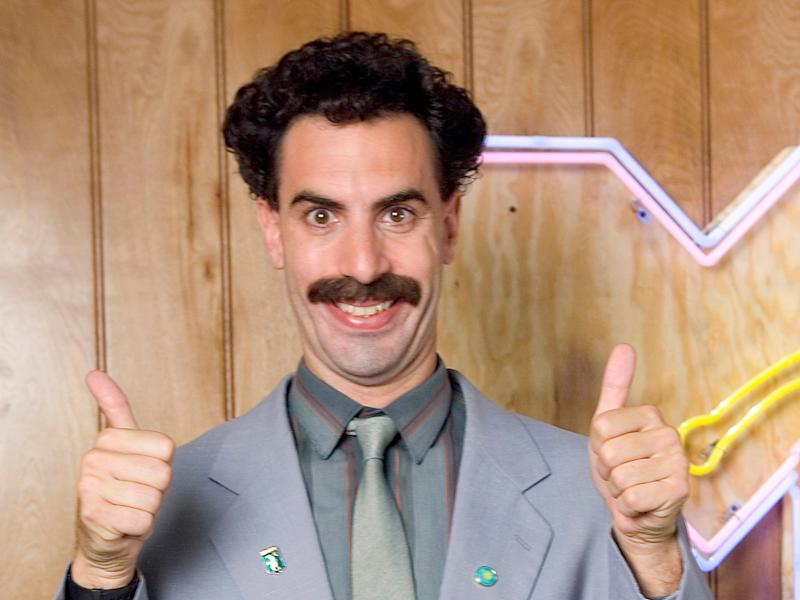 Borat will return for a new film released this NovemberGetty Images