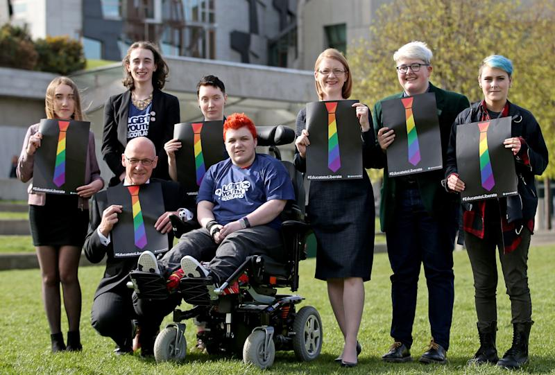 <p>Equalities campaigners hailed the move as a 'momentous victory' which sends a 'strong message' to all LGBTI youngsters.</p>