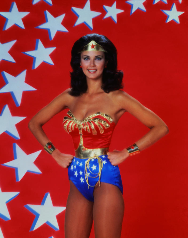 Was Lynda Carter's Wonder Woman American enough? (Bettmann via Getty Images)