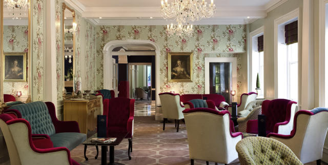 The lounge area at Francis Hotel Bath [Photo: Supplied]