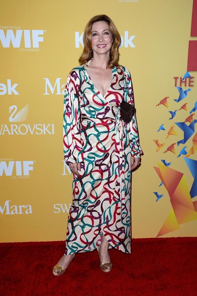 BEVERLY HILLS, CA - JUNE 12:  Actress Sharon Lawrence arrives at the 2012 Women In Film Crystal + Lucy Awards at The Beverly Hilton Hotel on June 12, 2012 in Beverly Hills, California.  (Photo by Frazer Harrison/Getty Images)