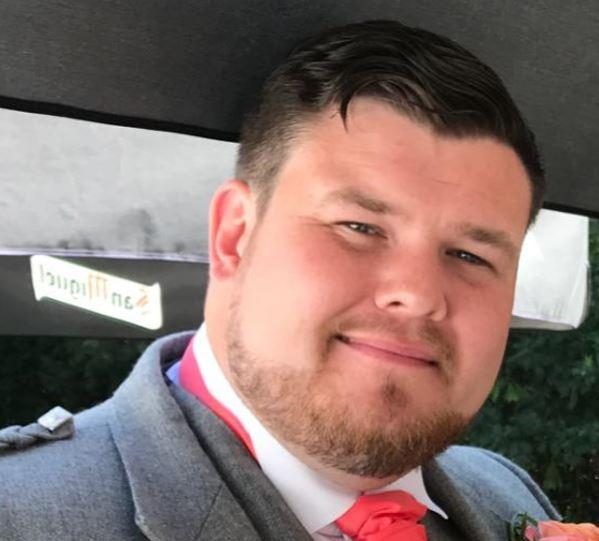 Brian McIntosh, 29, was shot dead (Picture: Police)