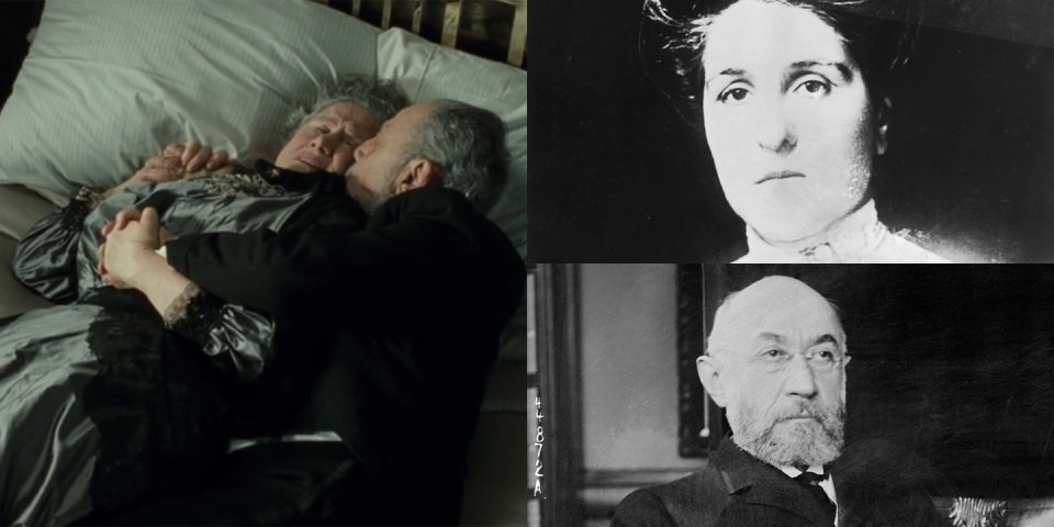 <p>Isidor Straus, played by Lew Palter, was the co-owner of Macy's department store; he married his wife Ida, played by Elsa Raven, in 1871. Ida reportedly refused to board a lifeboat upon finding out that her husband could not board one and they both died in the sinking. </p><p><strong>Titanic<em> turns 20 on December 19.</em></strong></p>