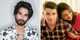PeeCee's ex-Shahid Kapoor has some vital marital tips for Priyanka Chopra and Nick Jonas