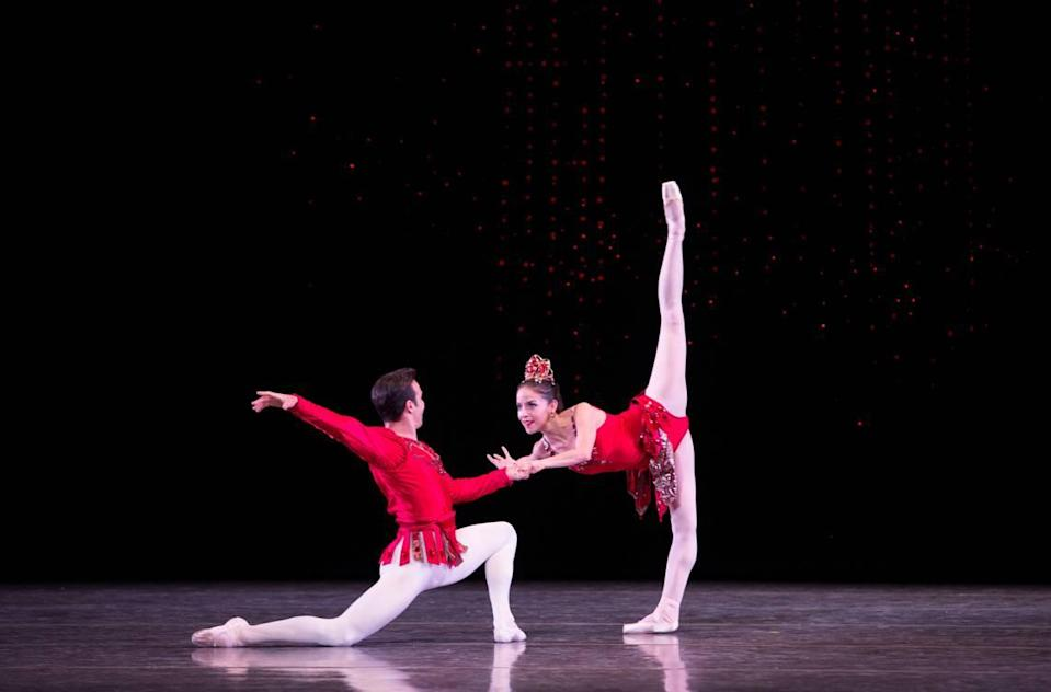 """Balanchine's belowed """"Jewels"""" will be part of the 2022 Miami City Ballet season."""