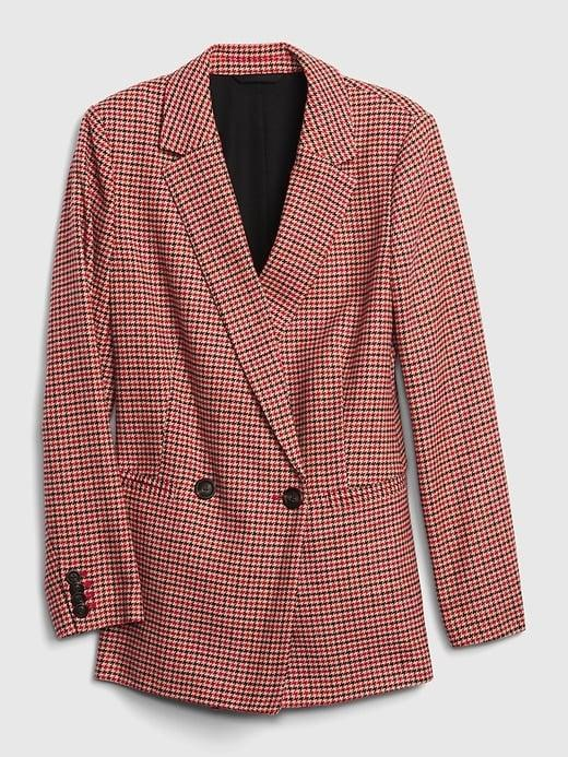 "<p>This <span>Gap Double-Breasted Blazer</span> ($134, originally $148) has a classic sportsman style. Wear it with jeans and a great pair of cowboy boots as <a href=""https://www.popsugar.com/fashion/photo-gallery/43663089/image/46462769/Princess-Diana-Style"" class=""link rapid-noclick-resp"" rel=""nofollow noopener"" target=""_blank"" data-ylk=""slk:a nod to Princess Diana's style"">a nod to Princess Diana's style</a>.</p>"