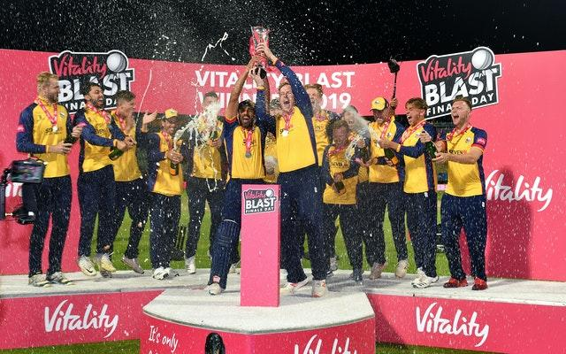 Essex Eagles were crowned Vitality Blast champions last September after a last-ball victory against Worcestershire at Edgbaston