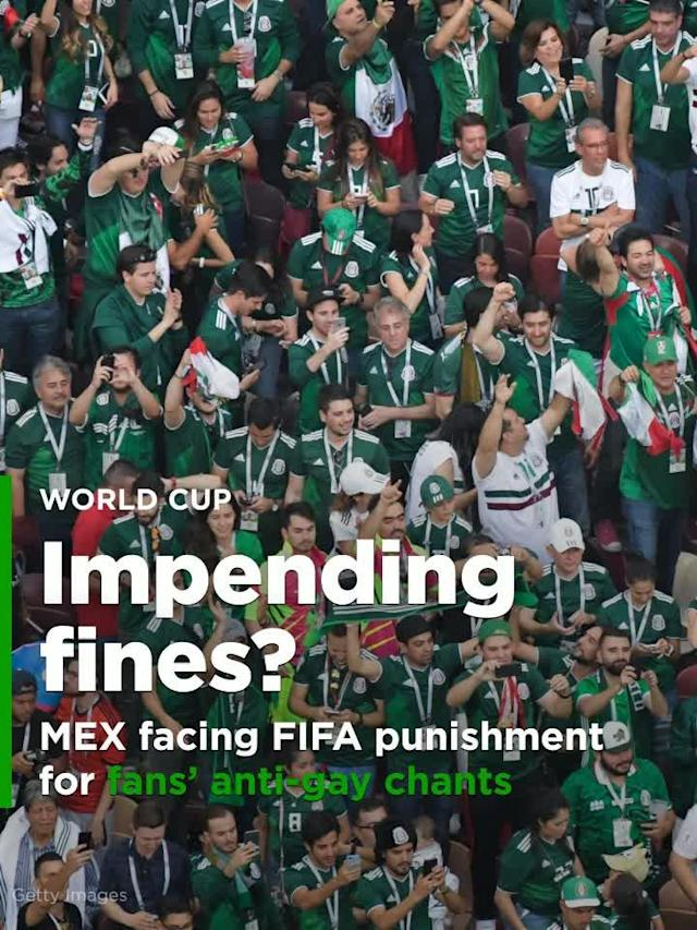 FIFA has opened disciplinary proceedings against Mexico's soccer federation after Mexican fans shouted an anti-gay slur in unison during their country's 1-0 win over Germany.