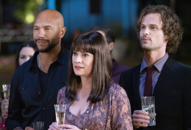 Criminal Minds Why Wasn T Reid With Maxine At The Series Ending Party Matthew Gray Gubler Is Curious Too