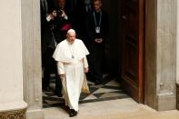 Pope Francis visits Budapest