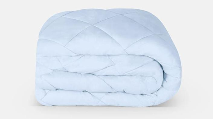 This cooling mattress pad is perfect for hot sleepers.