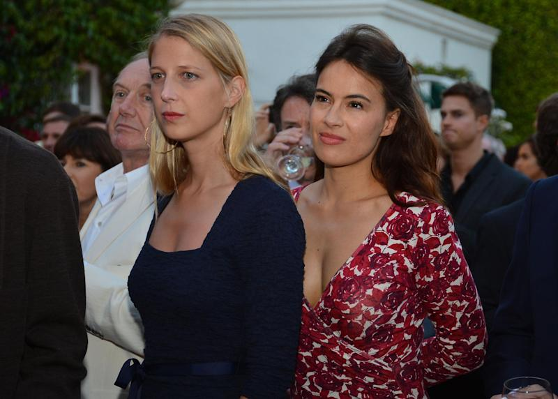 Lady Gabriella Windsor with Sophie Winkleman (Getty Images)