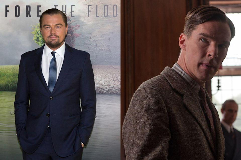 "<p><a href=""http://deadline.com/2011/10/warner-bros-buys-spec-script-about-math-genius-biopic-because-leonardo-di-caprio-chasing-lead-role-181822/"" rel=""nofollow noopener"" target=""_blank"" data-ylk=""slk:Deadline reported"" class=""link rapid-noclick-resp""><em>Deadline </em>reported</a> in 2011 that Leonardo DiCaprio had ""the inside track"" to play Alan Turing in what would become <em>The Imitation Game</em>, but a year later <a href=""https://www.hollywoodreporter.com/news/warner-bros-is-letting-go-imitation-game-363756"" rel=""nofollow noopener"" target=""_blank"" data-ylk=""slk:Variety said"" class=""link rapid-noclick-resp""><em>Variety </em>said</a> he was ""no longer… eyeing the lead."" Benedict Cumberbatch eventually filled the mathematician's shoes and garnered an Oscar nod for his work. An in-demand leading man, DiCaprio has also turned down roles in <em><a href=""https://www.maxim.com/entertainment/boogie-nights-20th-anniversary-2017-10"" rel=""nofollow noopener"" target=""_blank"" data-ylk=""slk:Boogie Nights"" class=""link rapid-noclick-resp"">Boogie Nights</a> </em>and <a href=""https://www.hollywoodreporter.com/news/leonardo-dicaprio-exits-steve-jobs-737570"" rel=""nofollow noopener"" target=""_blank"" data-ylk=""slk:Steve Jobs"" class=""link rapid-noclick-resp""><em>Steve Jobs</em></a>.</p>"