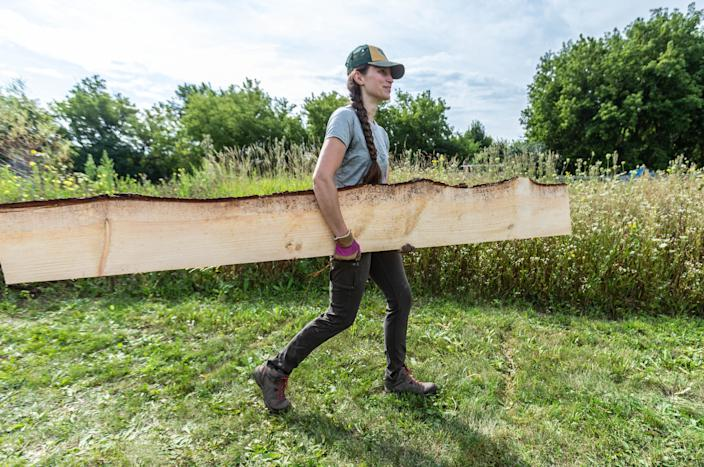 While COVID-19 concerns pushed some teachers to consider retirement, fourth grade teacher Lindsey Earle came up with a novel approach: building an outdoor classroom at Prairie Hill Waldorf School in Pewaukee, Wis.