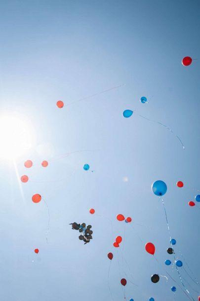 PHOTO: Balloons are released during a vigil for Sincere Gaston, who was killed in a June 27 shooting in Chicago, July 1, 2020. (Taylor Glascock/The New York Times via Redux)