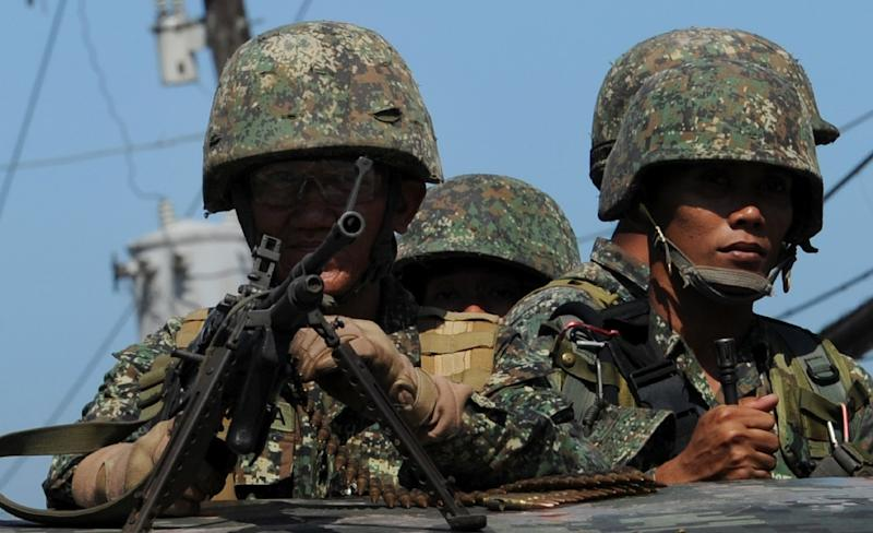 The military has been combatting Islamic militant groups such as Abu Sayyaf in the strife-torn southern Philippines since the 1990s