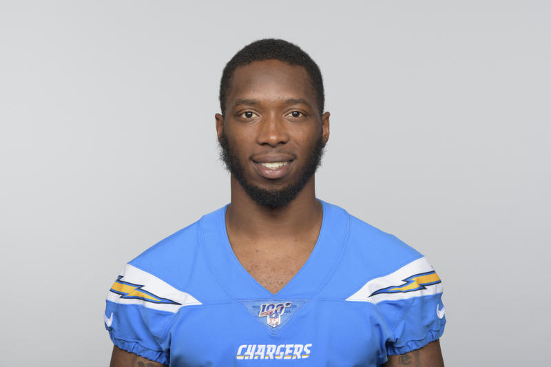 This is a 2019 photo of Jaylen Watkins of the Los Angeles Chargers NFL football team. This image reflects the Los Angeles Chargers active roster as of Monday, June 10, 2019 when this image was taken. (AP Photo)