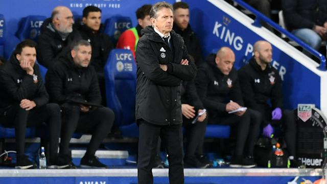 Leicester City suffered a 2-1 loss at home to lowly Southampton, leaving Claude Puel to face questions over his future at the club.