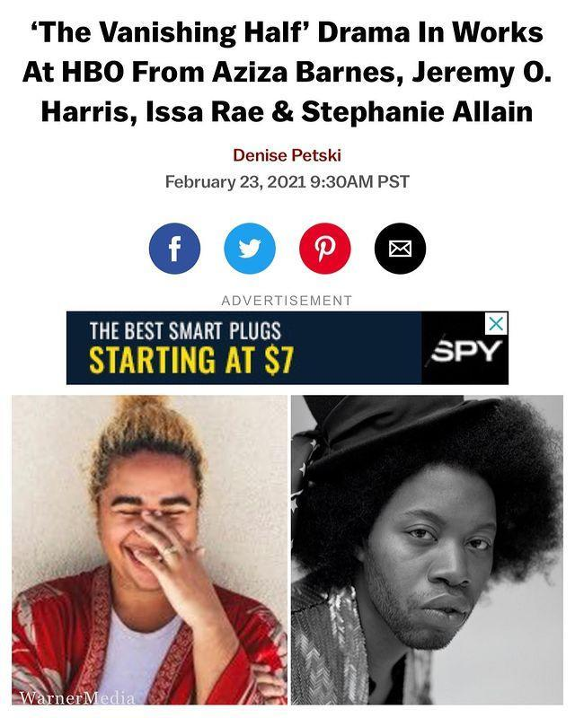 """<p><strong>Release date: TBC 2022</strong></p><p>Brit Bennett's best-selling novel The Vanishing Half is being adapted into a series by HBO. Bennett will serve as executive producer with Insecure's Issa Rae. <br></p><p>Shortlisted for the Women's Prize and listed as one of Barack Obama's books of 2020, the story follows twin Vignes sisters, who will always be identical. The synopsis reads: 'But after growing up together in a small, southern black community in the Jim Crow era, and running away at age sixteen, it's not just the shape of their daily lives that is different as adults, it's everything: their families, their communities, their racial identities. </p><p>'Ten years later, one sister lives with her black daughter in the same southern town she once tried to escape. The other secretly passes for white, and her white husband knows nothing of her past. Still, even separated by so many miles and just as many lies, the fates of the twins remain intertwined. What will happen to the next generation, when their own daughters' story lines intersect? </p><p>'Looking well beyond issues of race, the novel considers the lasting influence of the past as it shapes a person's decisions, desires, and expectations, and explores some of the multiple reasons and realms in which people sometimes feel pulled to live as something other than their origins.'</p><p><a class=""""link rapid-noclick-resp"""" href=""""https://www.amazon.co.uk/Vanishing-Half-Sunday-Times-Bestseller/dp/0349701474/ref=asc_df_0349701474/?linkCode=df0&hvadid=427989987768&hvadid=427989987768&hvnetw=g&hvnetw=g&hvrand=14682669448776636250&hvrand=14682669448776636250&hvdev=c&hvdev=c&hvlocphy=9045901&hvlocphy=9045901&hvtargid=pla-921922915408&hvtargid=pla-921922915408&psc=1&psc=1&th=1&adgrpid=103526073110"""" rel=""""nofollow noopener"""" target=""""_blank"""" data-ylk=""""slk:SHOP THE BOOK NOW"""">SHOP THE BOOK NOW</a></p><p><a href=""""https://www.instagram.com/p/CLpWvvDAICh/"""" rel=""""nofollow noopener"""" target=""""_blank"""" data-ylk=""""slk:See the origin"""