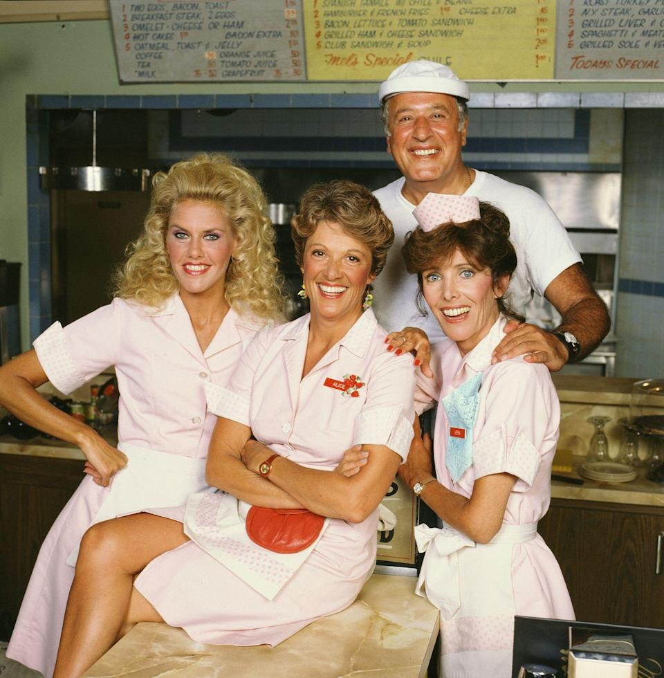 <p><strong><em>Alice </em></strong></p><p>Kiss My Grits! This '70s sitcom set outside of Phoenix, brought diner waitress Alice and co-workers at Mel's Diner to life.</p>
