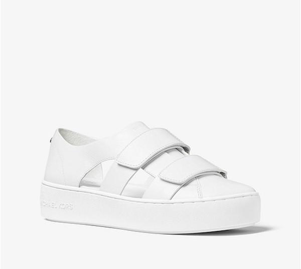 "<p>MICHAEL Michael Kors Beckett Leather Sneaker, $78, <a rel=""nofollow"" href=""https://www.polyvore.com/michael_michael_kors_beckett_leather/thing?id=197566328"">michaelkors.com</a> </p>"
