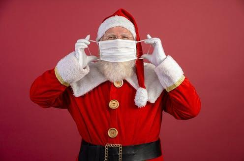 """<span class=""""caption"""">Have a safe Christmas!</span> <span class=""""attribution""""><a class=""""link rapid-noclick-resp"""" href=""""https://www.shutterstock.com/image-photo/real-santa-claus-red-background-wearing-1838639521"""" rel=""""nofollow noopener"""" target=""""_blank"""" data-ylk=""""slk:Brastock/Shutterstock"""">Brastock/Shutterstock</a></span>"""