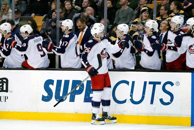 The Blue Jackets have found their second gear late in the season (Getty Images)