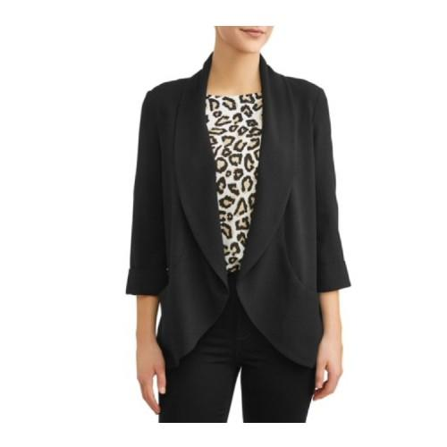 We love the pretty drape of this blazer. (Photo: Walmart)