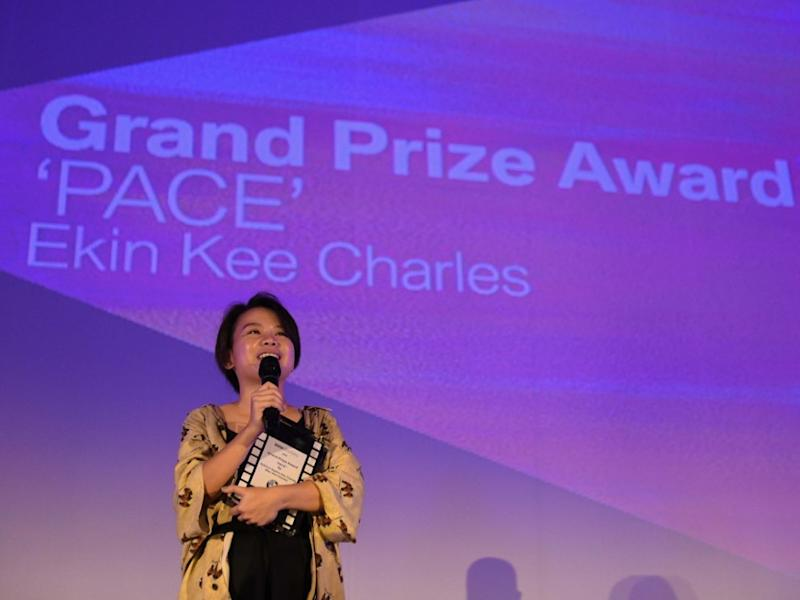 "Ekin Kee Charles, BMW Shorties 2019 Grand Prize Winner and Director of ""Pace""."