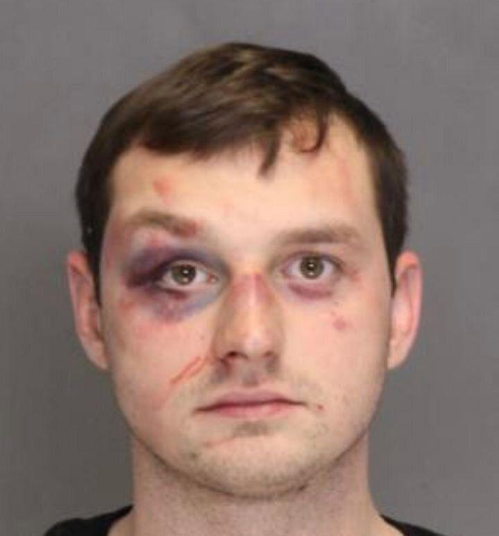 White supremacist Brandon Higgs on Wednesday was sentenced to 40 years in prison for the 2018 shooting of a Black man in Reisterstown, Maryland. (Photo: Baltimore County Police Department )