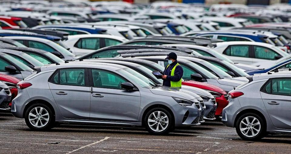 Car production is being hit by staff shortages (Peter Byrne/PA) (PA Wire)